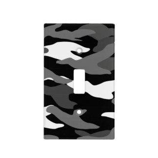 Camuflaje negro cubierta para interruptor
