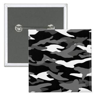 Camuflaje negro pins