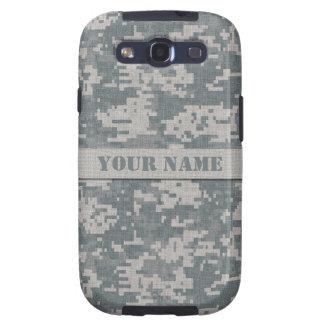 Camuflaje personalizado del ACU Digital Samsung Galaxy S3 Protectores