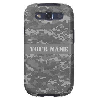 Camuflaje personalizado del ACU Digital Galaxy S3 Coberturas
