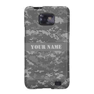 Camuflaje personalizado del ACU Digital Samsung Galaxy S2 Carcasa