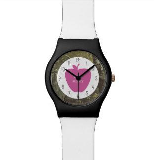 Camuflaje + Profesor rosado de Apple Reloj