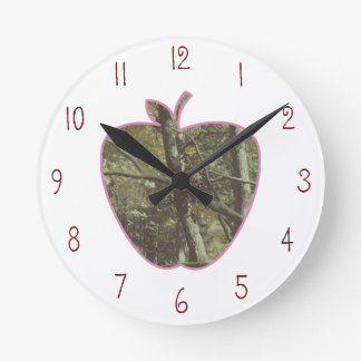 Camuflaje + Profesor rosado de Apple Reloj Redondo Mediano