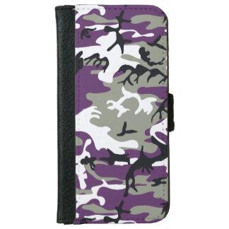 Camuflaje púrpura carcasa de iPhone 6