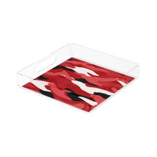 Camuflaje rojo