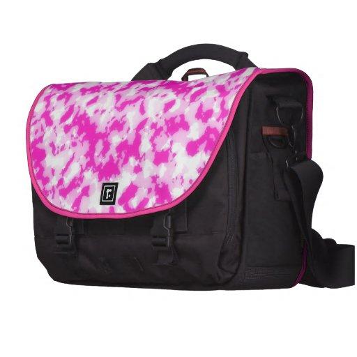 Camuflaje rosado bolsas de ordenador