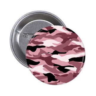 Camuflaje rosado bonito pin