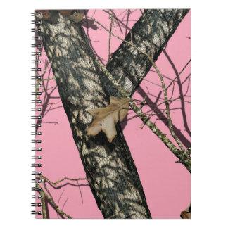 Camuflaje rosado cuadernos