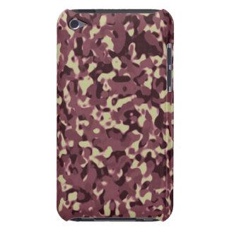 Camuflaje rosado de encargo de Africankoko iPod Case-Mate Fundas