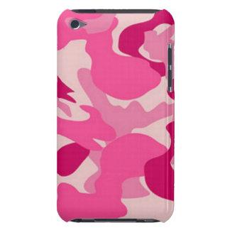 Camuflaje rosado de encargo de Africankoko iPod Case-Mate Funda