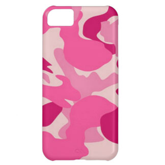 Camuflaje rosado de encargo de Africankoko Funda Para iPhone 5C