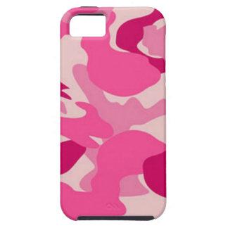 Camuflaje rosado de encargo de Africankoko Funda Para iPhone SE/5/5s