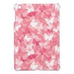 Camuflaje rosado de la mariposa iPad mini carcasa