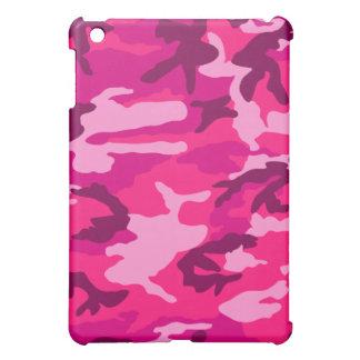camuflaje rosado del camo iPad mini carcasa