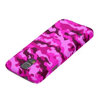 Camuflaje rosado carcasa de galaxy s5
