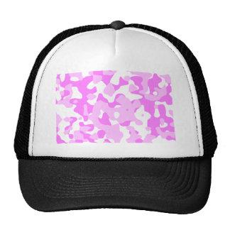 camuflaje rosado gorra