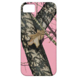Camuflaje rosado iPhone 5 Case-Mate protectores