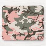 Camuflaje rosado Mousepad Alfombrillas De Raton