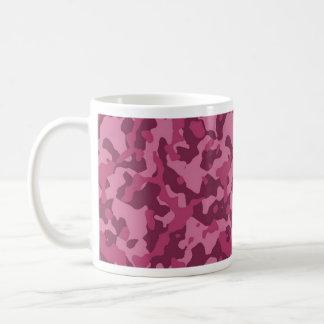 Camuflaje rosado tazas de café