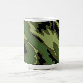 camuflaje taza clásica