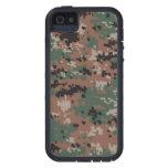 Camuflaje v2 del arbolado de MarPat Digital iPhone 5 Case-Mate Carcasas