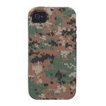 Camuflaje v2 del arbolado de MarPat Digital iPhone 4/4S Carcasas