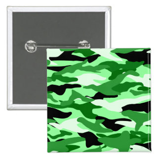 Camuflaje verde claro pin