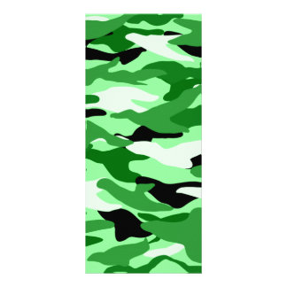 Camuflaje verde claro tarjeta publicitaria personalizada