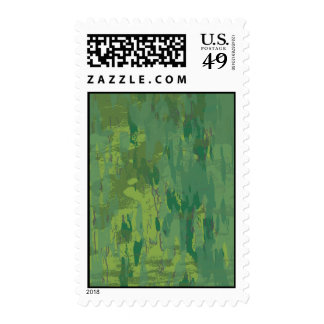 Camuflaje verde de la selva del modelo sello