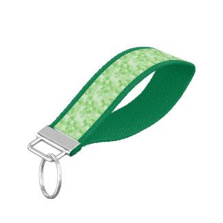 Camuflaje verde llavero de pulsera