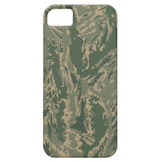 Camuflaje verde militar Barely There de los iPhone 5 Funda