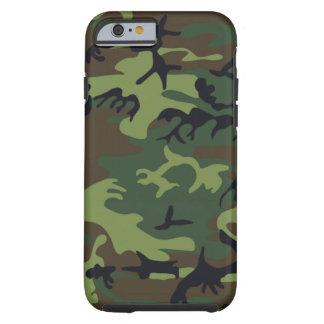 Camuflaje verde militar funda de iPhone 6 tough