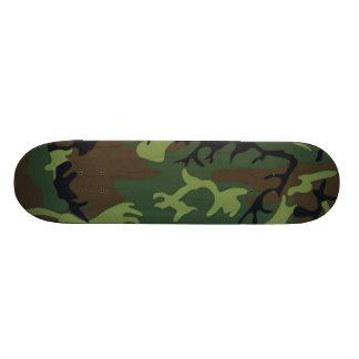 Camuflaje verde militar tabla de skate