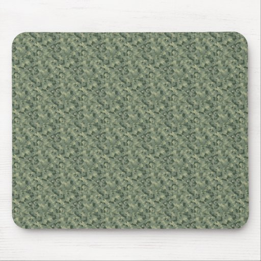 Camuflaje verde Mousepad de Digitaces Tapete De Ratones