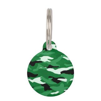 Camuflaje verde identificador para mascota