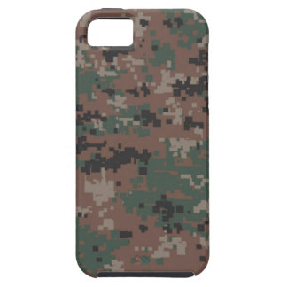 Camuflaje 'Vibe del arbolado de MarPat Digital iPhone 5 Case-Mate Coberturas