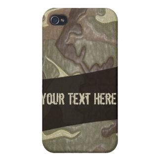 Camuflaje Vol2 del ejército iPhone 4/4S Funda