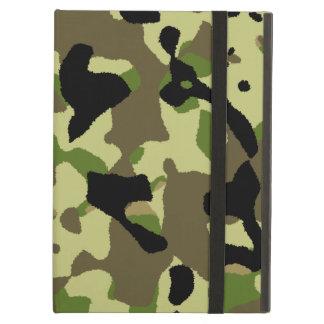 Camufle la caja de color caqui verde negra del air