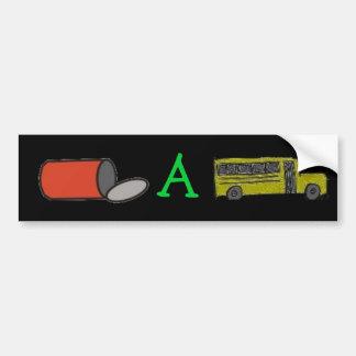 can a bus sticker