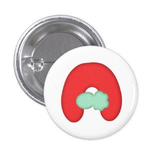 """Can batch """"A"""" alphabet Pinback Button"""