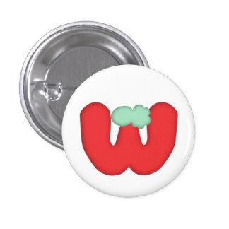 "Can batch ""W"" alphabet Pin"