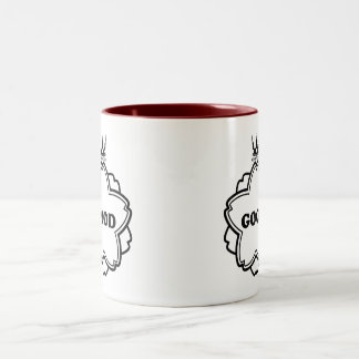 Can be made good the seal (black) which Two-Tone coffee mug
