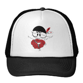 Can-Can dancer girl Hats