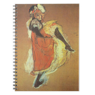 Can Can Dancer Notebook