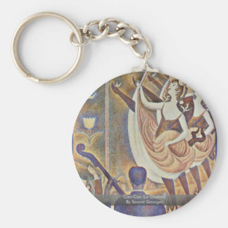 Can-Can (Le Chahut) By Seurat Georges Keychain