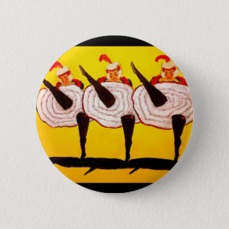 Can Can Pinback Button