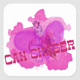 Can Chaser Gifts Square Sticker