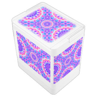 Can Cooler Mandala Psychedelic Visions Igloo Drink Cooler