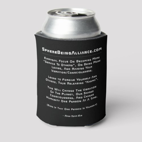 Can Cooler with Retro Logo