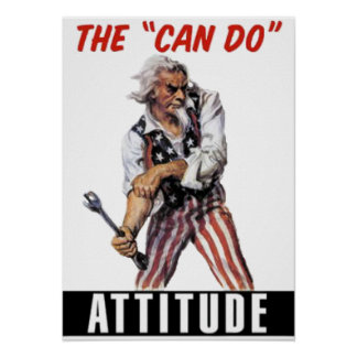 Can Do Attitude Posters